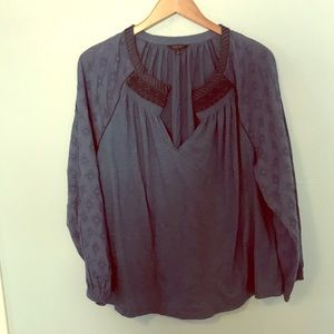 Lucky Brand Long Sleeve Top - Size 1X